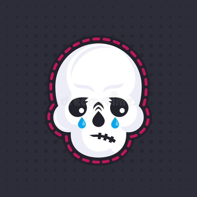 Να φωνάξει emoji κρανίων ελεύθερη απεικόνιση δικαιώματος