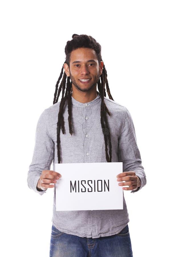 Νεαρός άνδρας Rastafari στοκ εικόνα με δικαίωμα ελεύθερης χρήσης