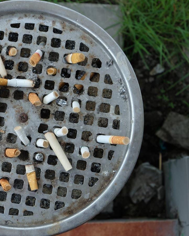 νεκρή απαγόρευση του καπνίσματος στοκ φωτογραφίες