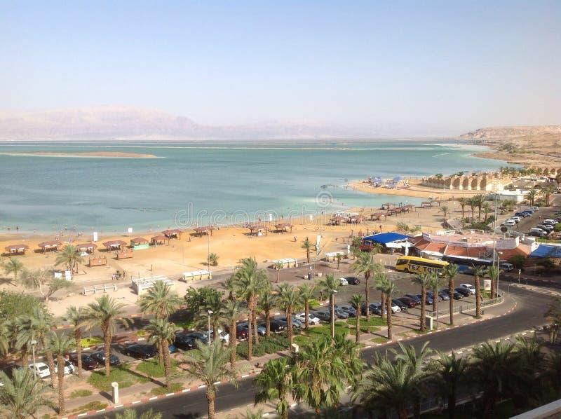 νεκρή θάλασσα του Ισραήλ στοκ φωτογραφία