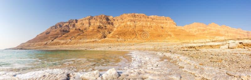 Νεκρή φύση τοπίων του Ισραήλ πανοράματος θάλασσας στοκ εικόνες