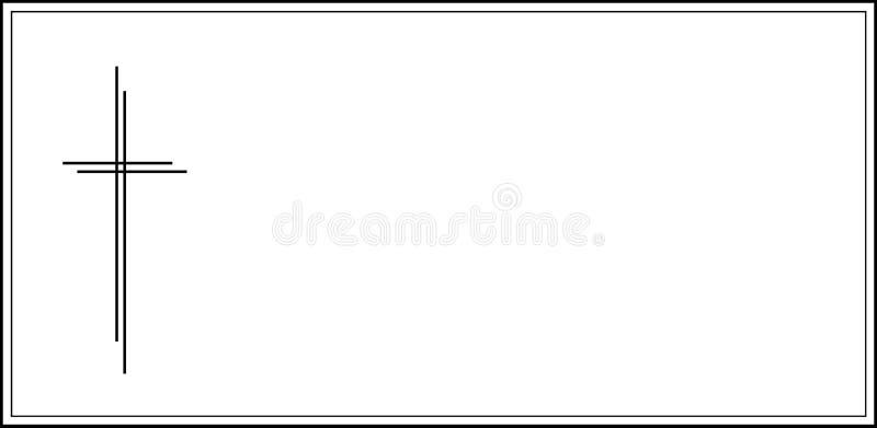 νεκρολογία ειδοποίησης απεικόνιση αποθεμάτων