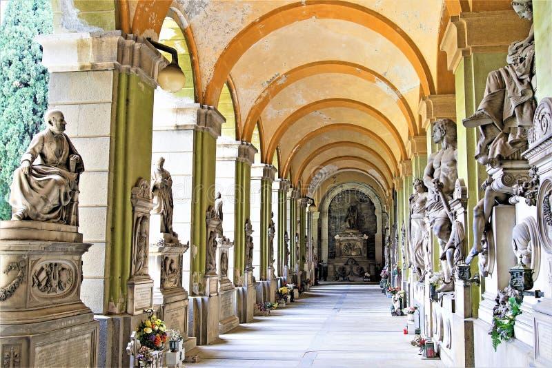 Νεκροταφείο 2, Γένοβα, Λιγυρία, Ιταλία της Γένοβας στοκ φωτογραφία