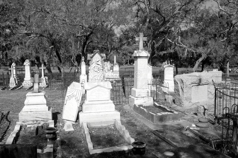 νεκροταφείο παλαιό στοκ εικόνες