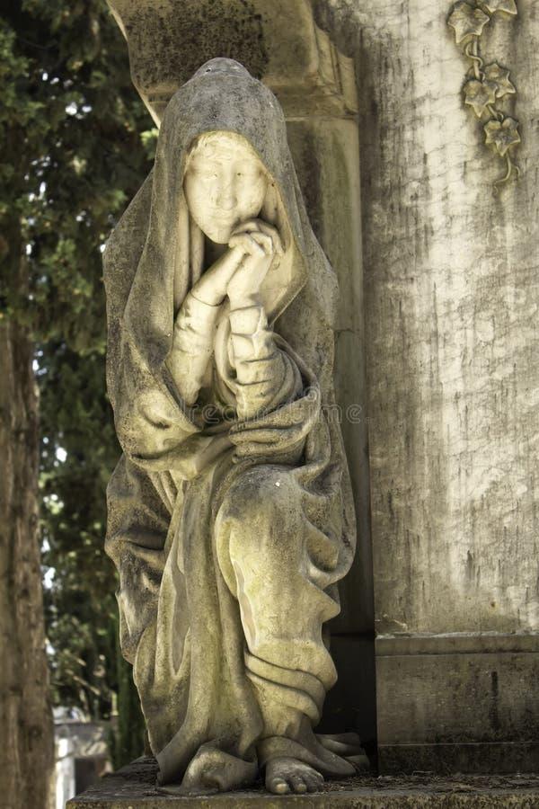 Νεκροταφείο πετρών της Virgin στοκ εικόνες
