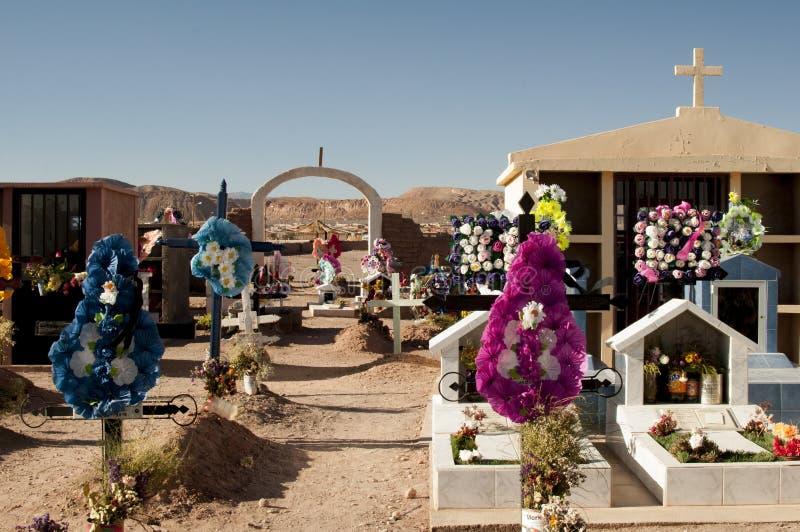 Νεκροταφείο στην έρημο Atacama στοκ φωτογραφίες