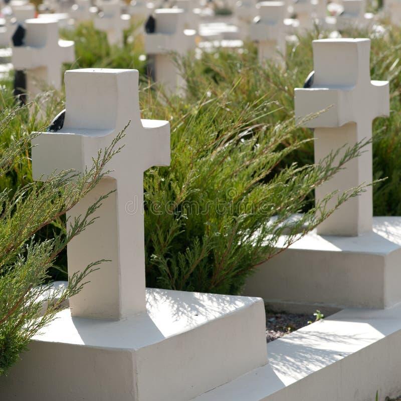 νεκροταφείο στρατιωτι&kappa στοκ εικόνες με δικαίωμα ελεύθερης χρήσης