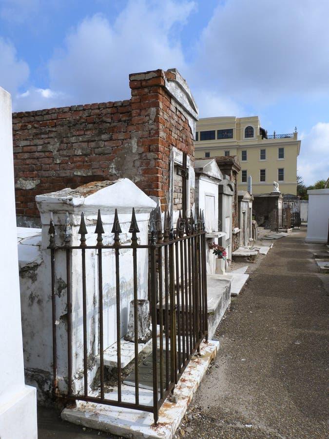 Νεκροταφείο της Λουιζιάνας στοκ φωτογραφίες με δικαίωμα ελεύθερης χρήσης