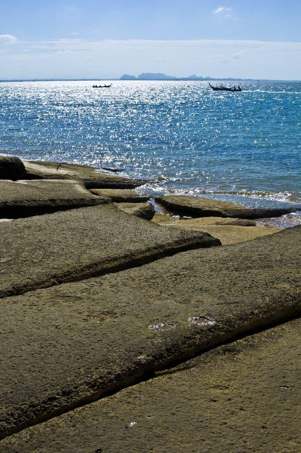Νεκροταφείο της Susan Hoi Shell Fossil Beach στοκ φωτογραφία με δικαίωμα ελεύθερης χρήσης