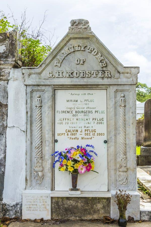 Νεκροταφείο του Λαφαγέτ στη Νέα Ορλεάνη στοκ εικόνα