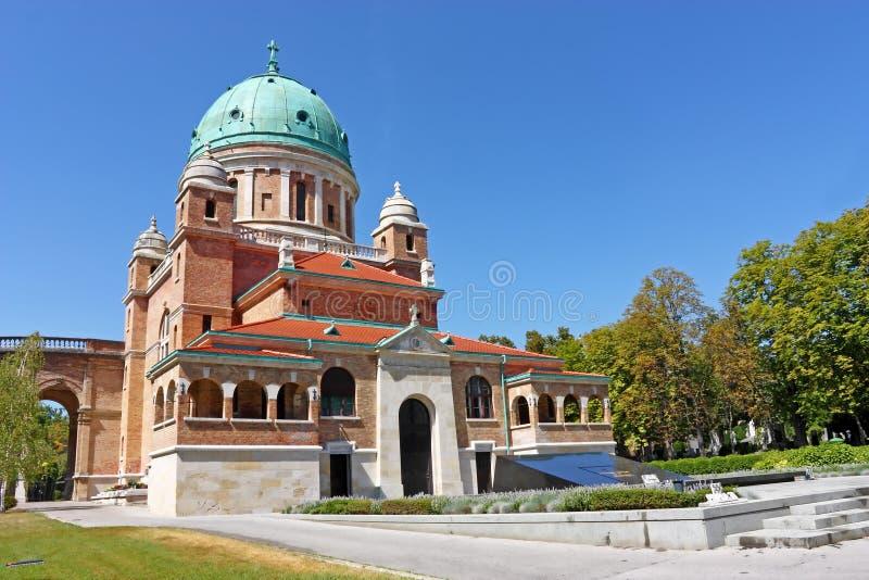 Νεκροταφείο Mirogoj, Ζάγκρεμπ στοκ εικόνα