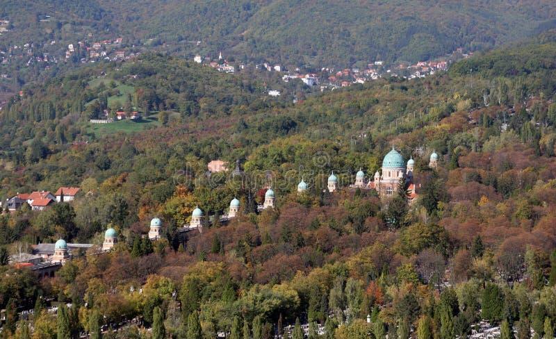 Νεκροταφείο Mirogoj στο Ζάγκρεμπ στοκ εικόνες