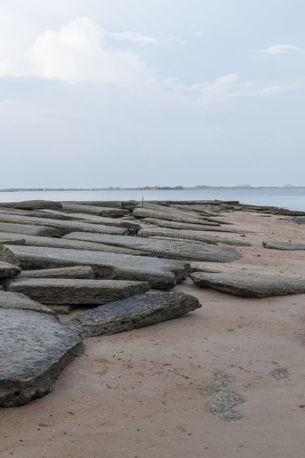 Νεκροταφείο Susan Hoi της Shell Krabi στοκ εικόνες