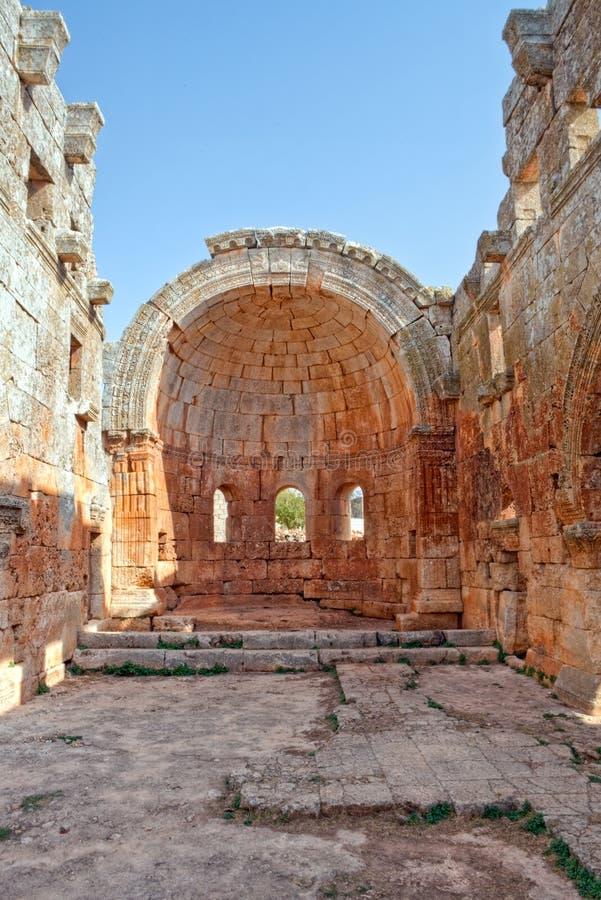 νεκρό lozeh qalb Συρία πόλεων στοκ εικόνες με δικαίωμα ελεύθερης χρήσης