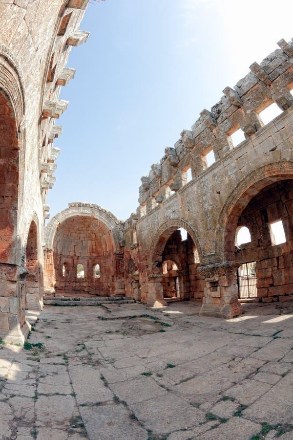 νεκρό lozeh qalb Συρία πόλεων στοκ εικόνα
