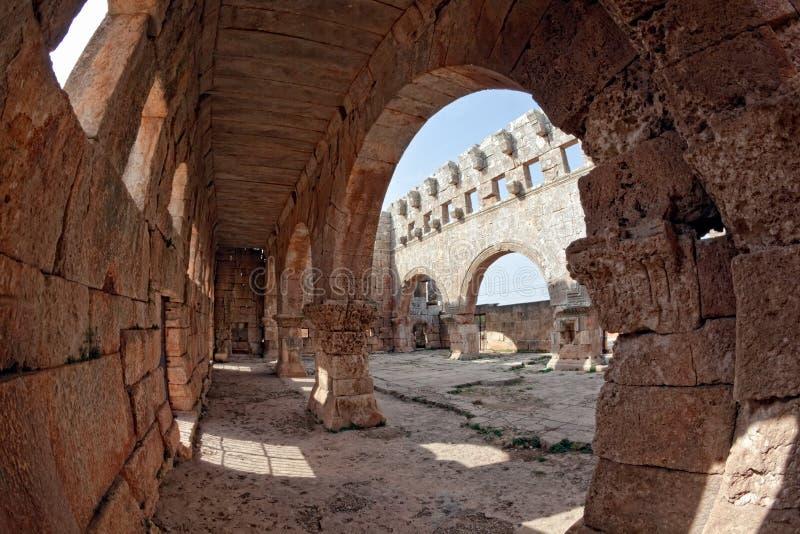 νεκρό lozeh qalb Συρία πόλεων στοκ φωτογραφίες