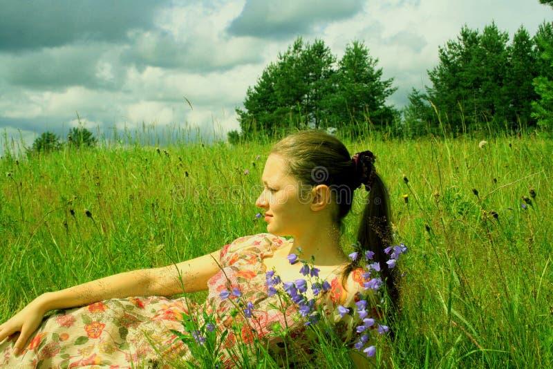 Νεολαία και καλοκαίρι στοκ εικόνες