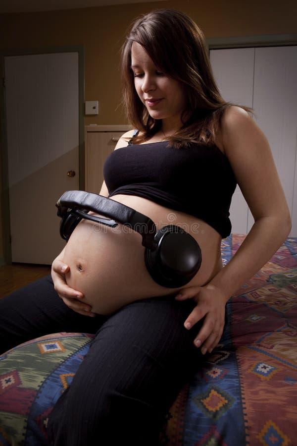 νεολαίες έγκυων γυναι&kapp στοκ εικόνες