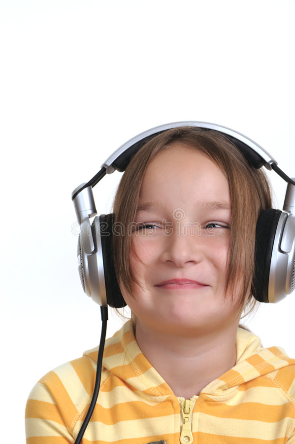 νεολαίες ακουστικών κ&omi στοκ εικόνες με δικαίωμα ελεύθερης χρήσης