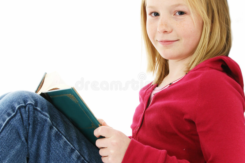 νεολαίες ανάγνωσης κοριτσιών στοκ εικόνες