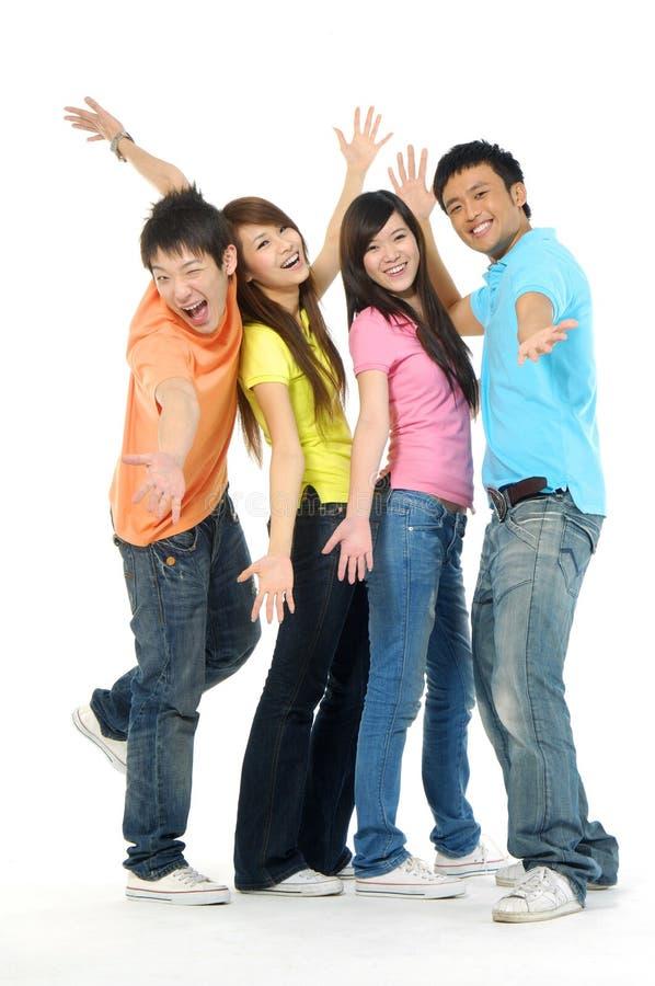νεολαίες ανθρώπων της Ασί στοκ εικόνες με δικαίωμα ελεύθερης χρήσης