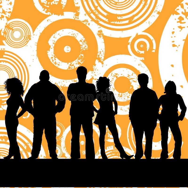 νεολαίες ανθρώπων απεικόνιση αποθεμάτων