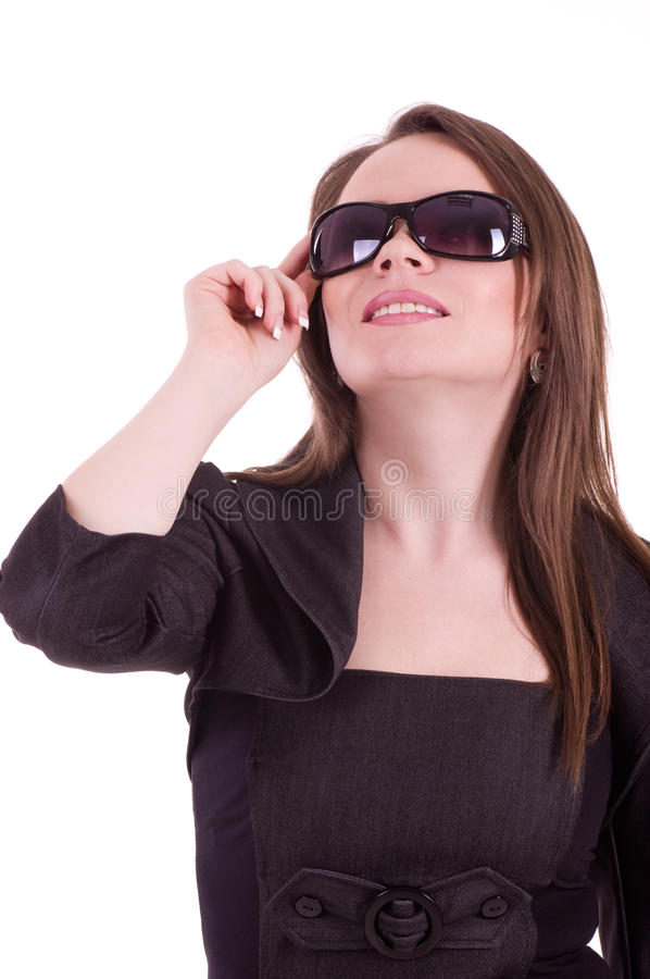 νεολαίες γυαλιών επιχειρηματιών στοκ εικόνα