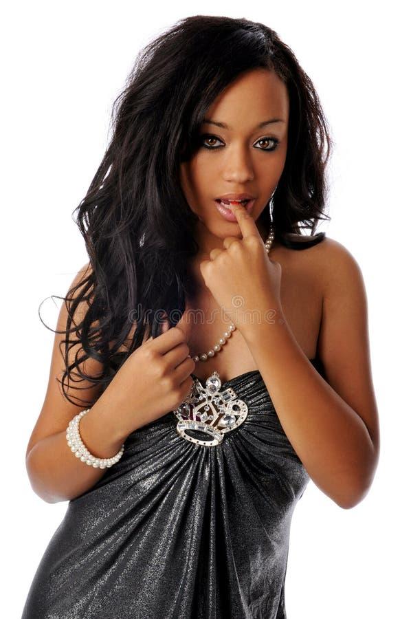 νεολαίες γυναικών αφροαμερικάνων στοκ εικόνες με δικαίωμα ελεύθερης χρήσης