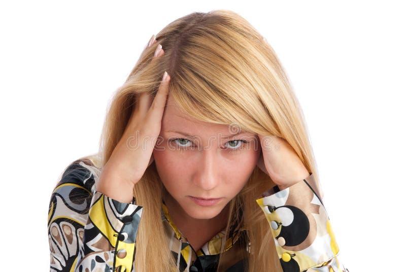 νεολαίες γυναικών πονο&k στοκ φωτογραφίες με δικαίωμα ελεύθερης χρήσης