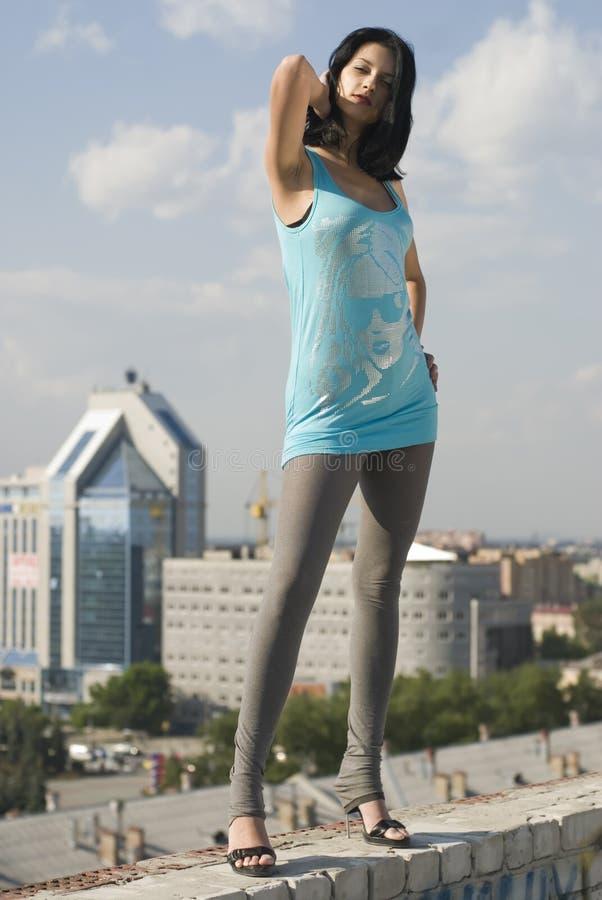 νεολαίες γυναικών στεγ στοκ φωτογραφία με δικαίωμα ελεύθερης χρήσης