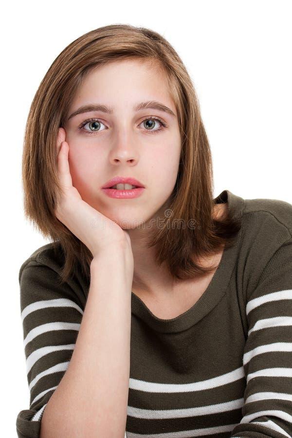 νεολαίες εφήβων πορτρέτ&omicro στοκ φωτογραφία με δικαίωμα ελεύθερης χρήσης
