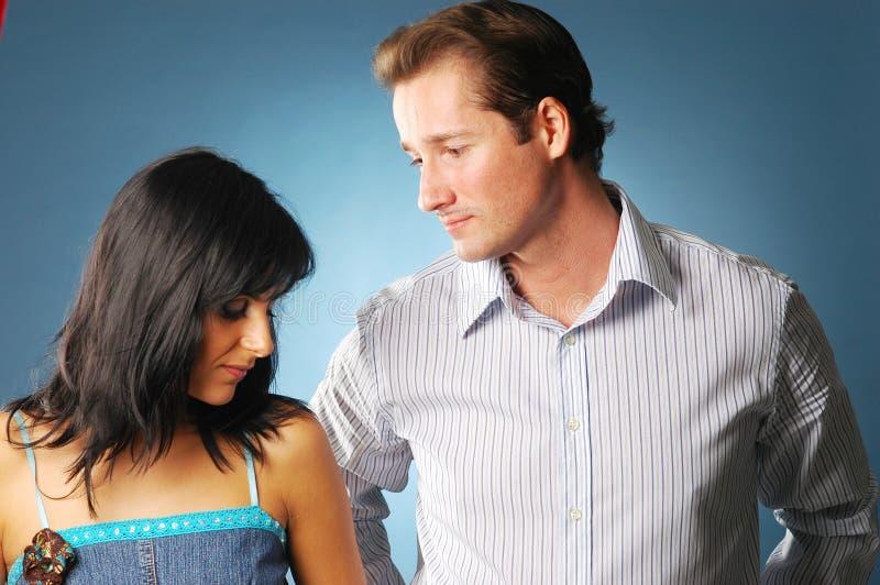 νεολαίες ζευγαριού στοκ εικόνες