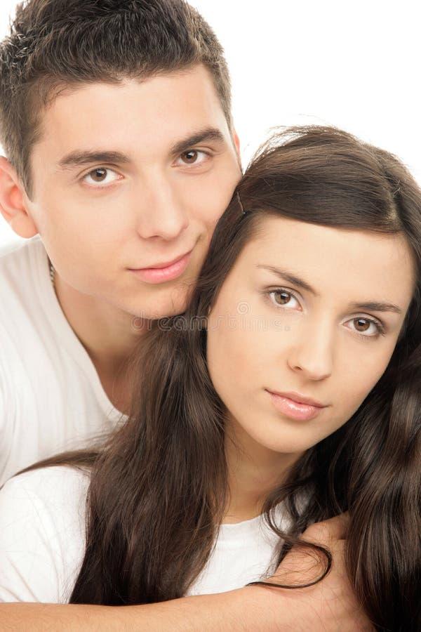 νεολαίες ζευγών στοκ εικόνα με δικαίωμα ελεύθερης χρήσης