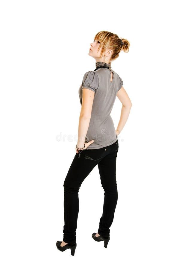 Download νεολαίες λευκών γυναι&k στοκ εικόνες. εικόνα από απομονωμένος - 13176272