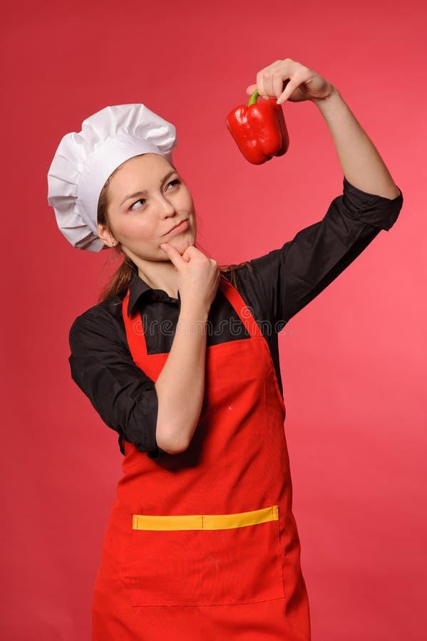 νεολαίες μαγείρων ομορφιάς στοκ φωτογραφία
