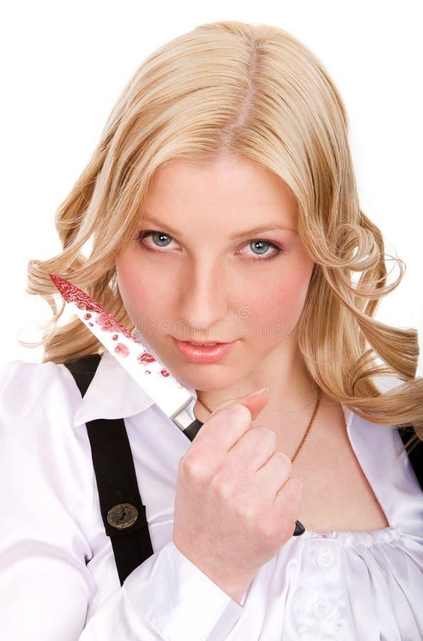 νεολαίες μαχαιριών εκμ&epsilon στοκ εικόνα με δικαίωμα ελεύθερης χρήσης