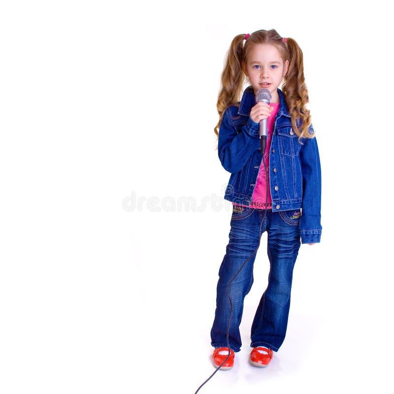 νεολαίες μικροφώνων κορ στοκ εικόνες