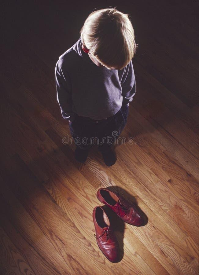 νεολαίες παπουτσιών πατέ στοκ φωτογραφία με δικαίωμα ελεύθερης χρήσης