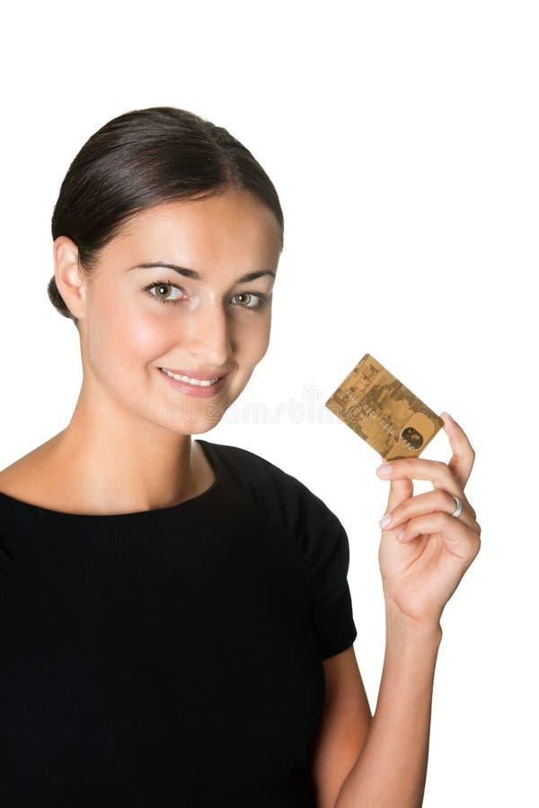 νεολαίες πιστωτικών όμορ&p στοκ εικόνα με δικαίωμα ελεύθερης χρήσης