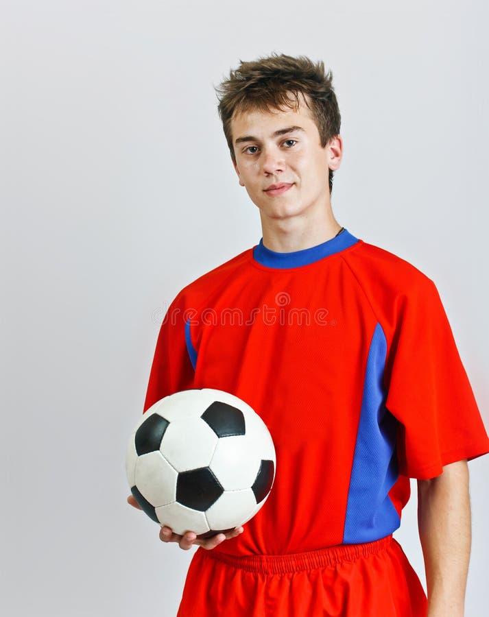 νεολαίες ποδοσφαίρου φορέων στοκ φωτογραφίες