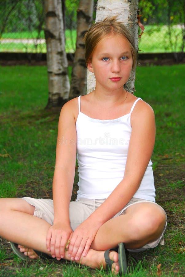 νεολαίες πορτρέτου κοριτσιών στοκ εικόνες