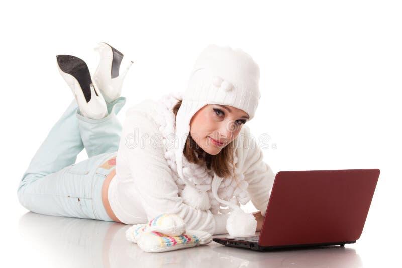 Download νεολαίες χειμερινών γυ&nu στοκ εικόνα. εικόνα από γάντι - 22784557