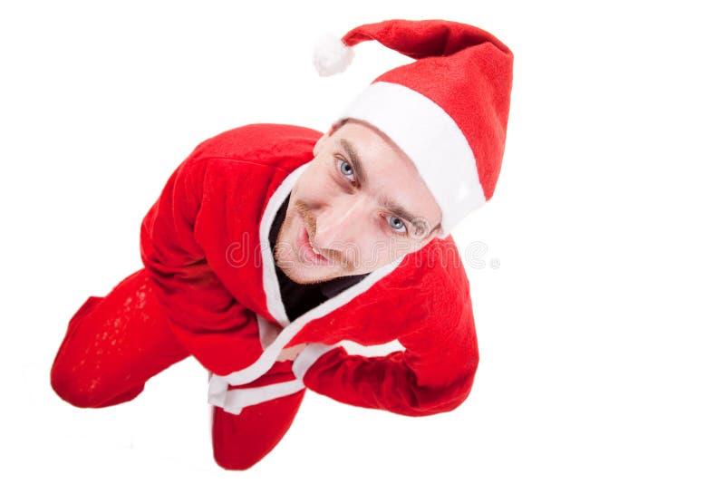 νεολαίες santa Claus στοκ εικόνες με δικαίωμα ελεύθερης χρήσης