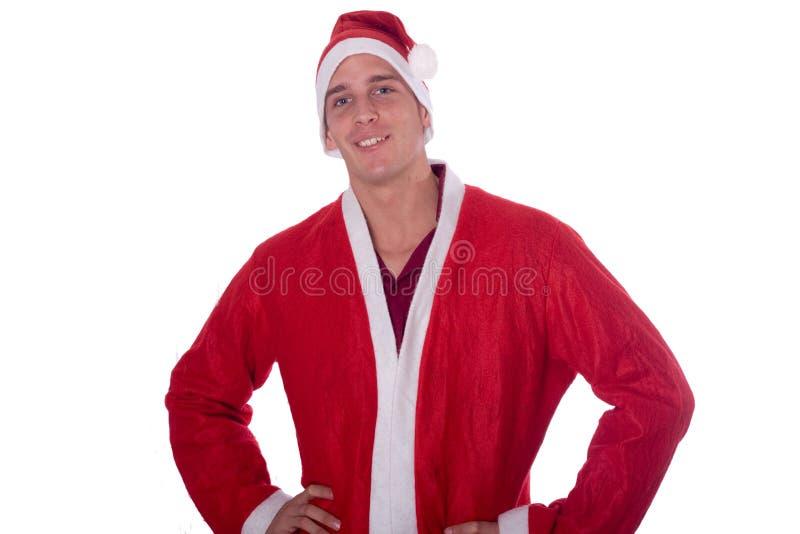 νεολαίες santa Claus στοκ φωτογραφία με δικαίωμα ελεύθερης χρήσης