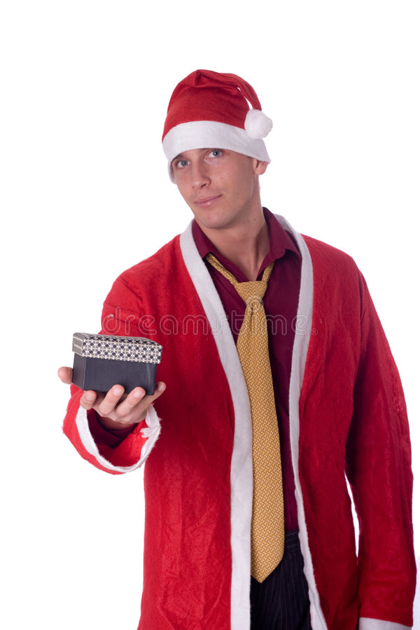 νεολαίες santa Claus στοκ εικόνα