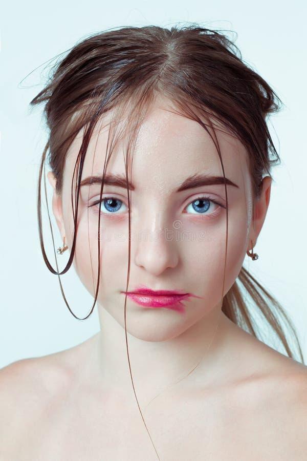νεολαίες πορτρέτου κορ Εικόνα πρωινού με στοκ φωτογραφία με δικαίωμα ελεύθερης χρήσης