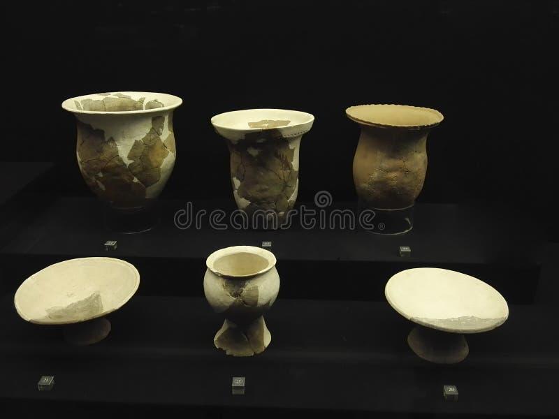 Νεολιθική αγγειοπλαστική στοκ φωτογραφίες