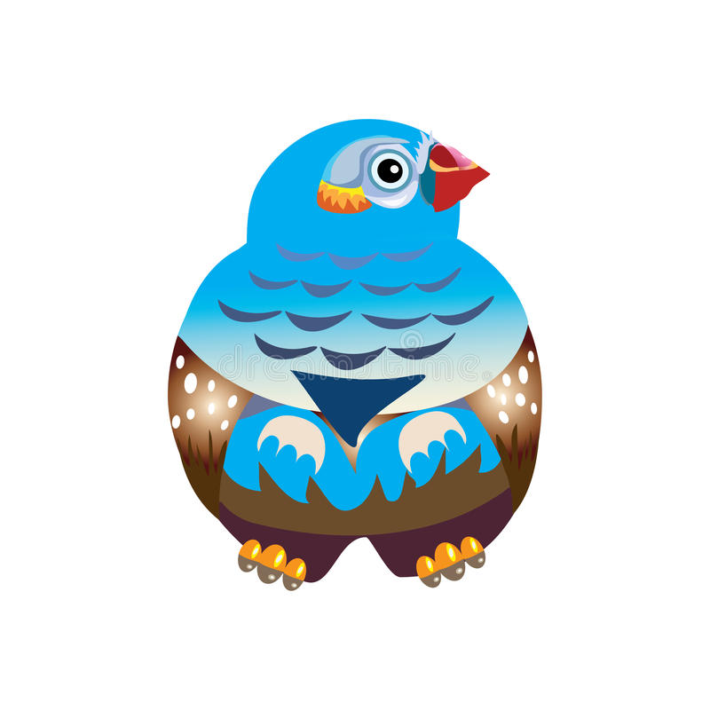 νεράιδα πουλιών στοκ φωτογραφία με δικαίωμα ελεύθερης χρήσης