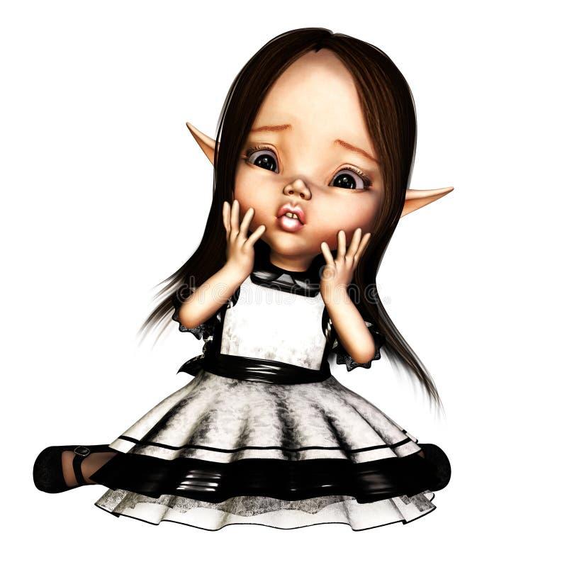 νεράιδα goth διανυσματική απεικόνιση