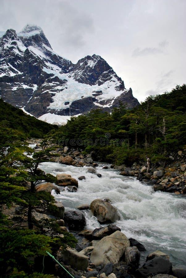 Νερό από τα βουνά στοκ εικόνες